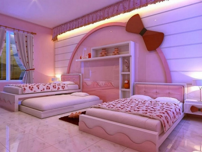 35-Dazzling-Amazing-Girls-Bedroom-Design-Ideas-2015-19 34 Dazzling & Amazing Girls' Bedroom Design Ideas 2019
