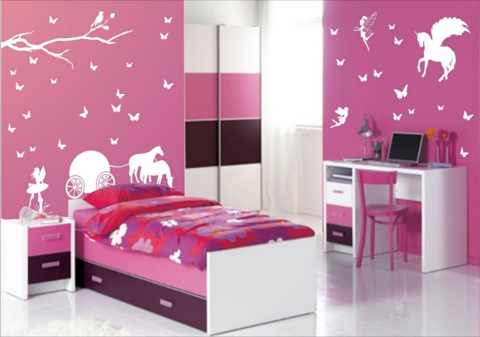 35-Dazzling-Amazing-Girls-Bedroom-Design-Ideas-2015-2 34 Dazzling & Amazing Girls' Bedroom Design Ideas 2019