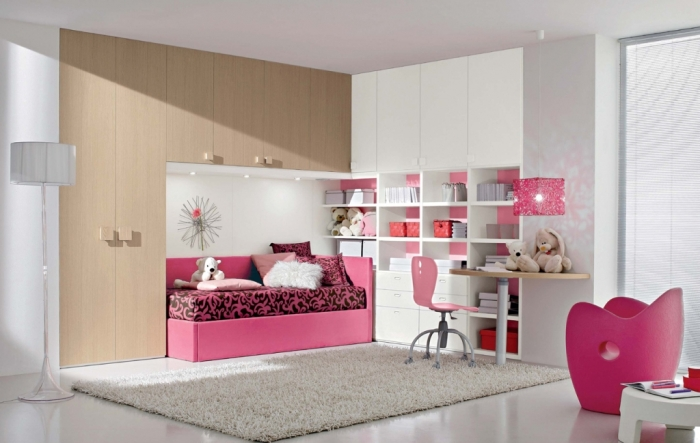 35-Dazzling-Amazing-Girls-Bedroom-Design-Ideas-2015-22 34 Dazzling & Amazing Girls' Bedroom Design Ideas 2019