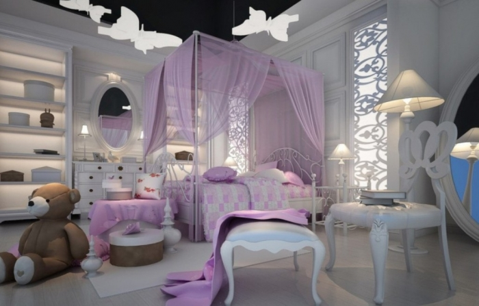 35-Dazzling-Amazing-Girls-Bedroom-Design-Ideas-2015-31 34 Dazzling & Amazing Girls' Bedroom Design Ideas 2020