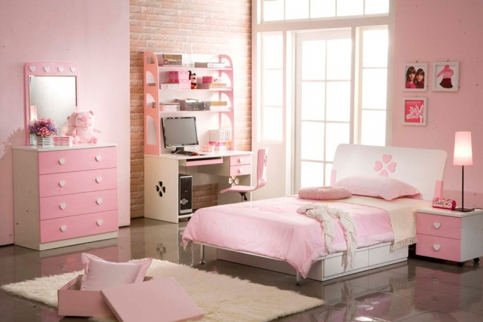 35-Dazzling-Amazing-Girls-Bedroom-Design-Ideas-2015-7 34 Dazzling & Amazing Girls' Bedroom Design Ideas 2020