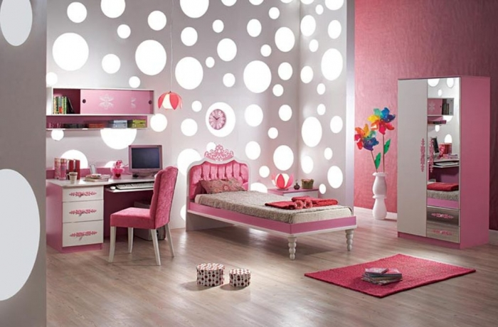 35-Dazzling-Amazing-Girls-Bedroom-Design-Ideas-2015-8 34 Dazzling & Amazing Girls' Bedroom Design Ideas 2019