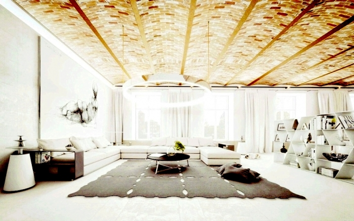 35-Dazzling-Catchy-Ceiling-Design-Ideas-2015-1 46 Dazzling & Catchy Ceiling Design Ideas 2019