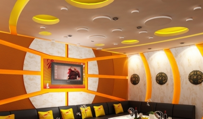 35-Dazzling-Catchy-Ceiling-Design-Ideas-2015-10 46 Dazzling & Catchy Ceiling Design Ideas 2019