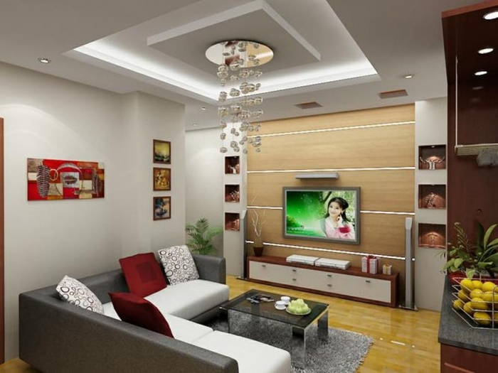 35-Dazzling-Catchy-Ceiling-Design-Ideas-2015-11 46 Dazzling & Catchy Ceiling Design Ideas 2017 ... [UPDATED]