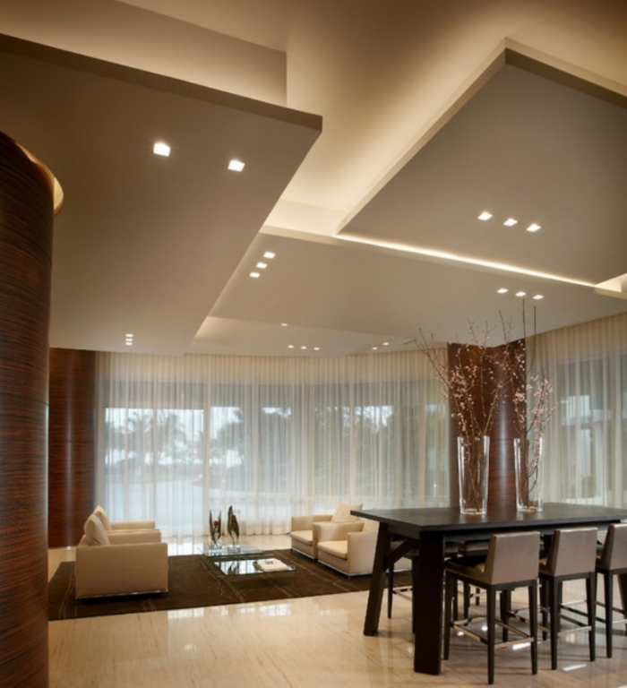 35-Dazzling-Catchy-Ceiling-Design-Ideas-2015-12 46 Dazzling & Catchy Ceiling Design Ideas 2019