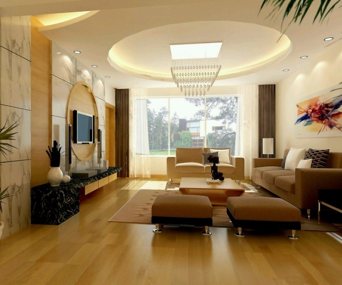 35-Dazzling-Catchy-Ceiling-Design-Ideas-2015-13 46 Dazzling & Catchy Ceiling Design Ideas 2019