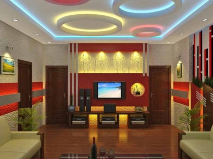 35-Dazzling-Catchy-Ceiling-Design-Ideas-2015-14 46 Dazzling & Catchy Ceiling Design Ideas 2017 ... [UPDATED]