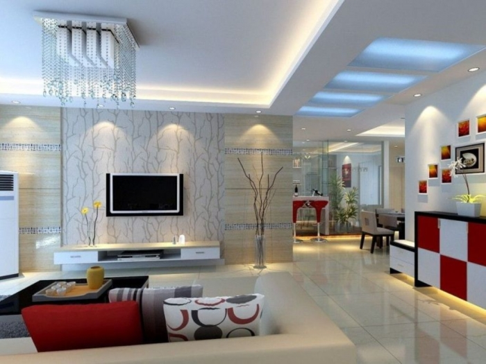 35-Dazzling-Catchy-Ceiling-Design-Ideas-2015-18 46 Dazzling & Catchy Ceiling Design Ideas 2017 ... [UPDATED]