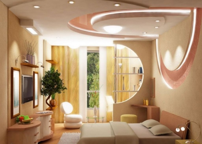 35-Dazzling-Catchy-Ceiling-Design-Ideas-2015-27 46 Dazzling & Catchy Ceiling Design Ideas 2020