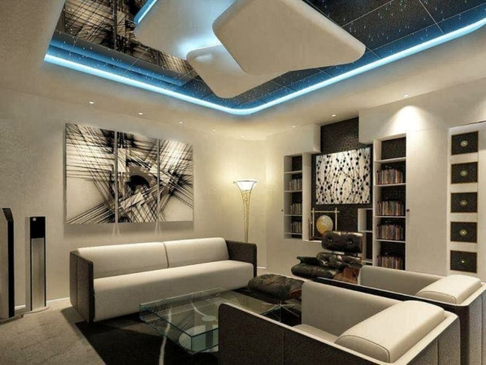 35-Dazzling-Catchy-Ceiling-Design-Ideas-2015-28 46 Dazzling & Catchy Ceiling Design Ideas 2019