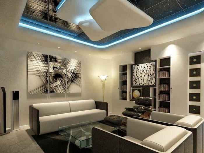 35-Dazzling-Catchy-Ceiling-Design-Ideas-2015-28 46 Dazzling & Catchy Ceiling Design Ideas 2020