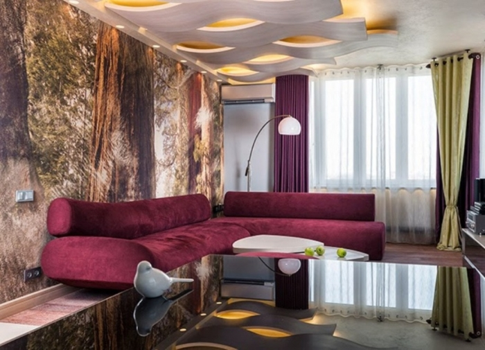 35-Dazzling-Catchy-Ceiling-Design-Ideas-2015-30 46 Dazzling & Catchy Ceiling Design Ideas 2020