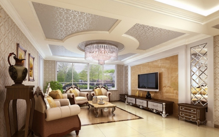 35-Dazzling-Catchy-Ceiling-Design-Ideas-2015-34 46 Dazzling & Catchy Ceiling Design Ideas 2017 ... [UPDATED]