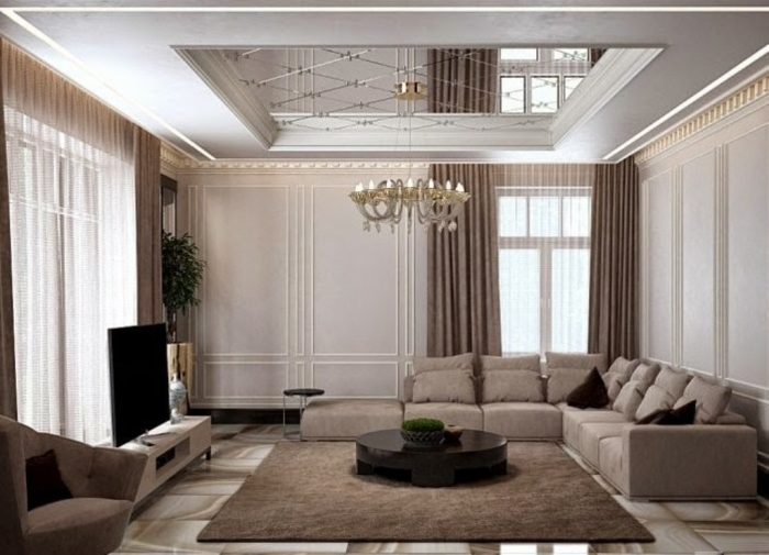 35-Dazzling-Catchy-Ceiling-Design-Ideas-2015-39 46 Dazzling & Catchy Ceiling Design Ideas 2019
