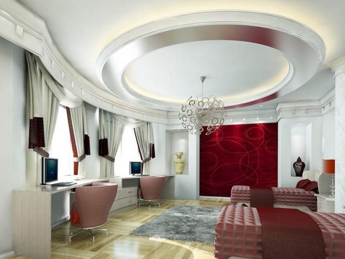 35-Dazzling-Catchy-Ceiling-Design-Ideas-2015-4 46 Dazzling & Catchy Ceiling Design Ideas 2021