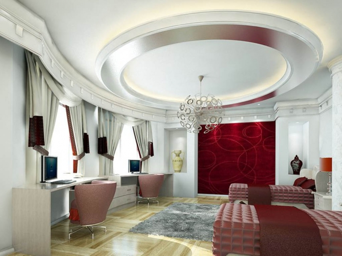 35-Dazzling-Catchy-Ceiling-Design-Ideas-2015-4 46 Dazzling & Catchy Ceiling Design Ideas 2020