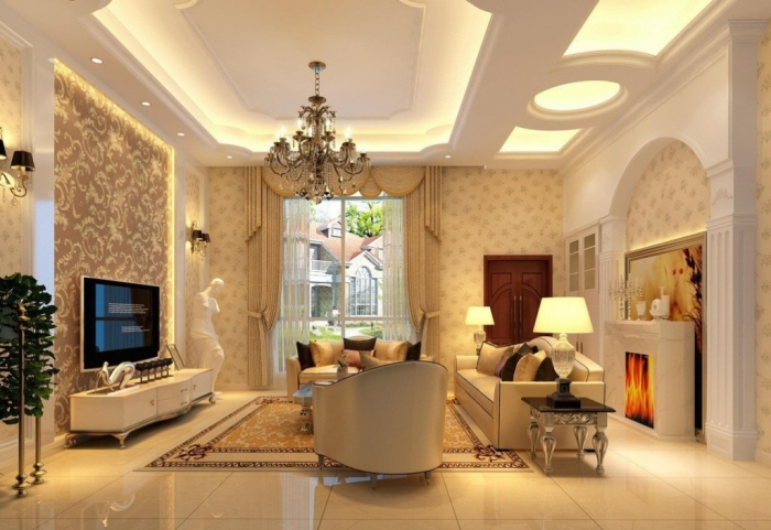 35-Dazzling-Catchy-Ceiling-Design-Ideas-2015-40 46 Dazzling & Catchy Ceiling Design Ideas 2019