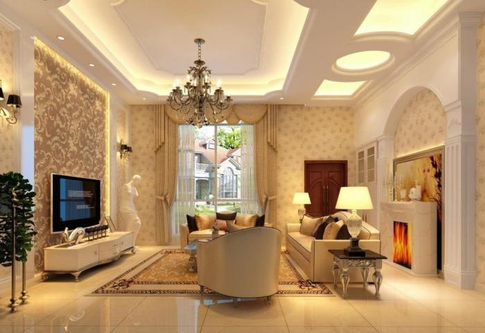 35-Dazzling-Catchy-Ceiling-Design-Ideas-2015-40 46 Dazzling & Catchy Ceiling Design Ideas 2021