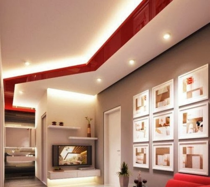 35-Dazzling-Catchy-Ceiling-Design-Ideas-2015-41 46 Dazzling & Catchy Ceiling Design Ideas 2017 ... [UPDATED]