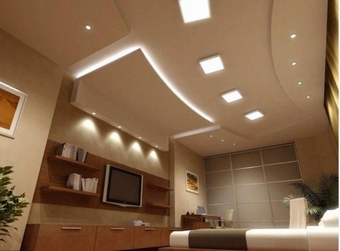 35-Dazzling-Catchy-Ceiling-Design-Ideas-2015-45 46 Dazzling & Catchy Ceiling Design Ideas 2021