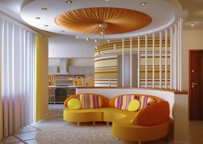 35-Dazzling-Catchy-Ceiling-Design-Ideas-2015-5 46 Dazzling & Catchy Ceiling Design Ideas 2019