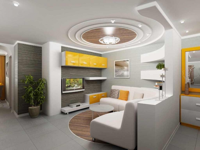 35-Dazzling-Catchy-Ceiling-Design-Ideas-2015-7 46 Dazzling & Catchy Ceiling Design Ideas 2020