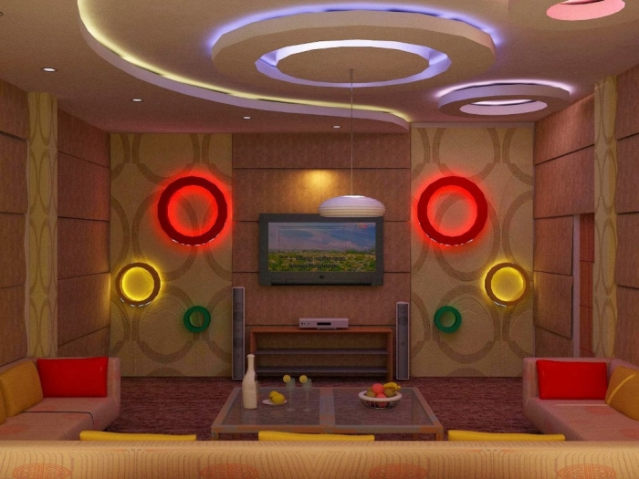 35-Dazzling-Catchy-Ceiling-Design-Ideas-2015-8 46 Dazzling & Catchy Ceiling Design Ideas 2019