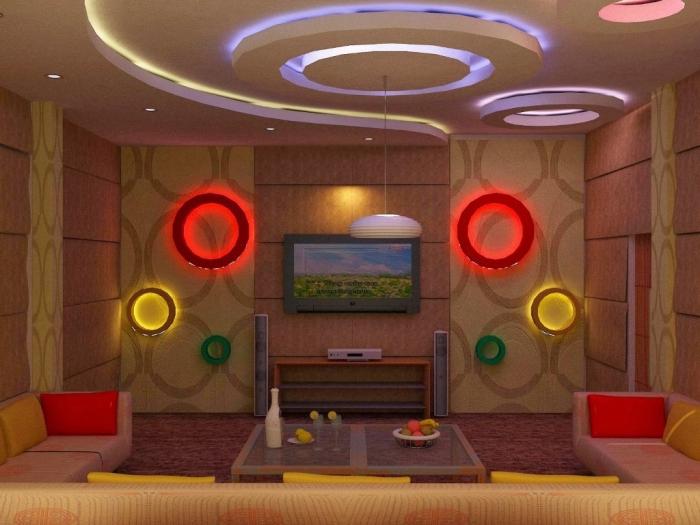 35-Dazzling-Catchy-Ceiling-Design-Ideas-2015-8 46 Dazzling & Catchy Ceiling Design Ideas 2020