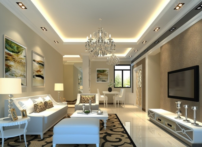 35-Dazzling-Catchy-Ceiling-Design-Ideas-2015 46 Dazzling & Catchy Ceiling Design Ideas 2019
