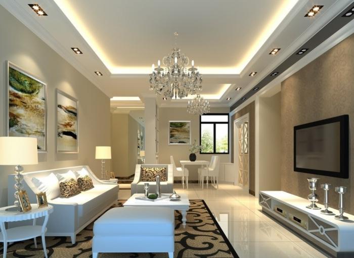 35-Dazzling-Catchy-Ceiling-Design-Ideas-2015 46 Dazzling & Catchy Ceiling Design Ideas 2021
