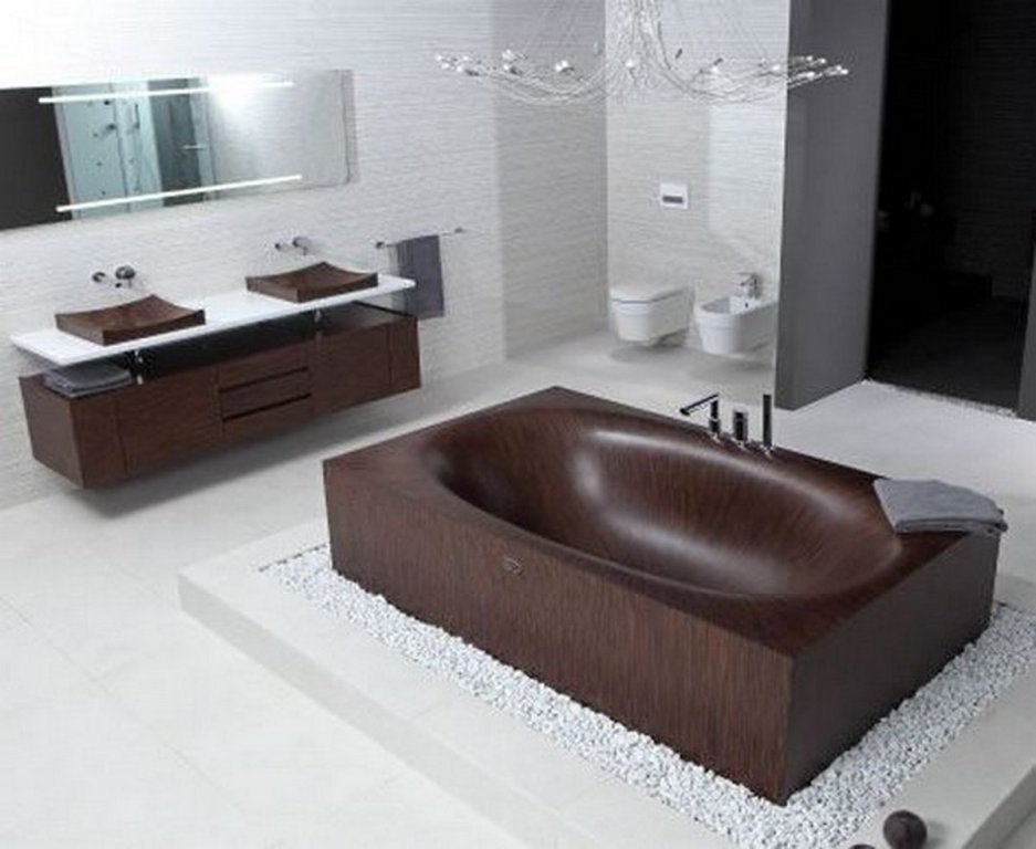 35-Magnificent-Dazzling-Bathtub-Designs-2015-21 45+ Magnificent & Dazzling Bathtub Designs 2019