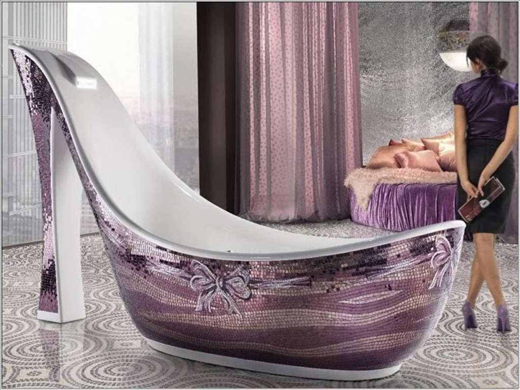 35-Magnificent-Dazzling-Bathtub-Designs-2015-22 45+ Magnificent & Dazzling Bathtub Designs