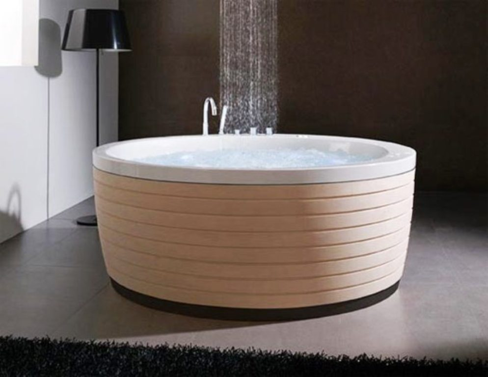 35-Magnificent-Dazzling-Bathtub-Designs-2015-24 45+ Magnificent & Dazzling Bathtub Designs 2019
