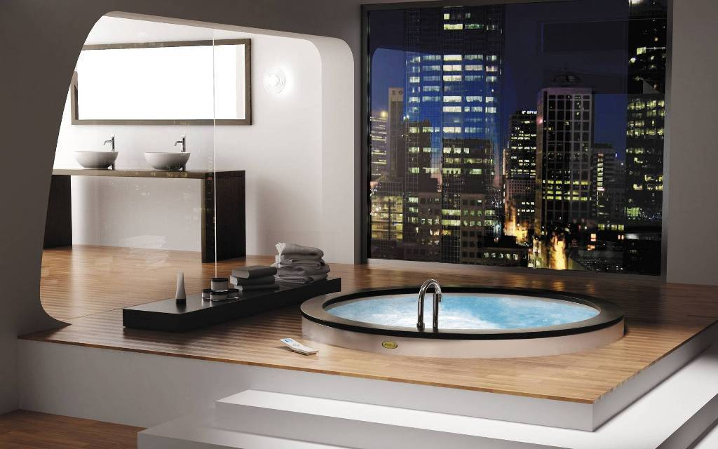 35-Magnificent-Dazzling-Bathtub-Designs-2015-42 45+ Magnificent & Dazzling Bathtub Designs 2019