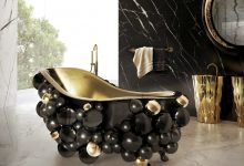 Photo of 45+ Magnificent & Dazzling Bathtub Designs