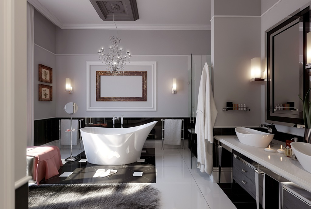 35-Magnificent-Dazzling-Bathtub-Designs-2015-7 45+ Magnificent & Dazzling Bathtub Designs 2019