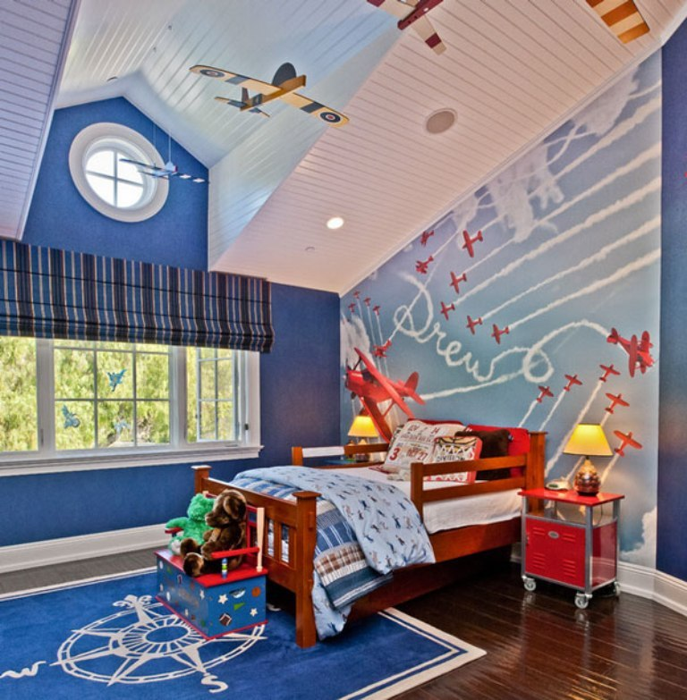 35-Magnificent-Dazzling-Ceiling-Design-Ideas-for-Kids-2015-14 36 Magnificent & Dazzling Ceiling Design Ideas for Kids 2019