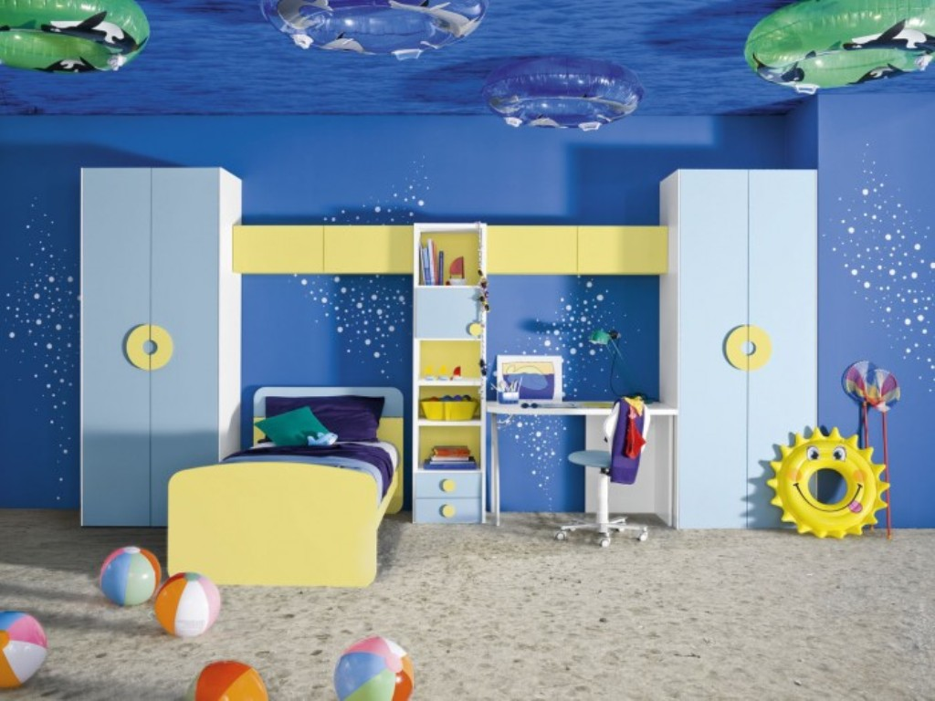 35-Magnificent-Dazzling-Ceiling-Design-Ideas-for-Kids-2015-15 36 Magnificent & Dazzling Ceiling Design Ideas for Kids 2017