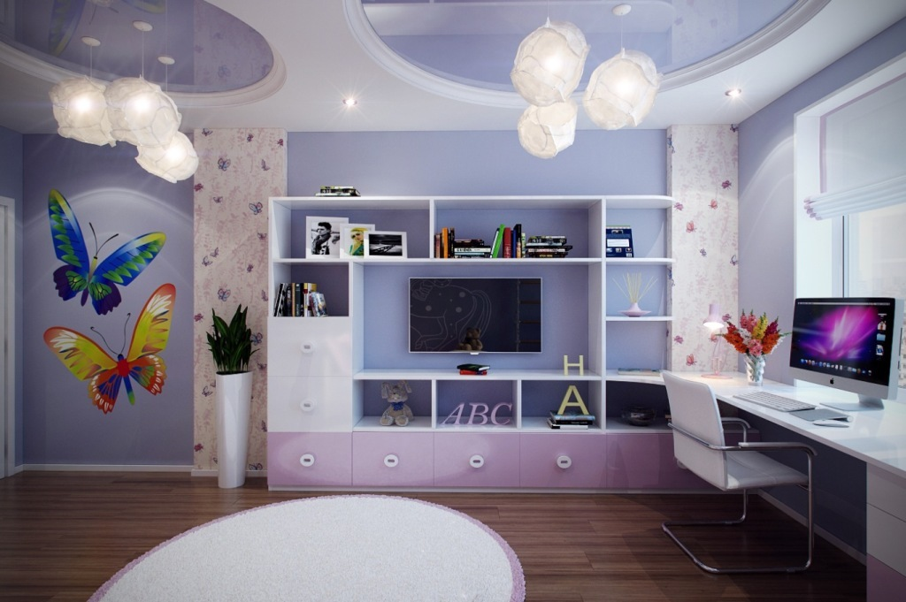35-Magnificent-Dazzling-Ceiling-Design-Ideas-for-Kids-2015-16 36 Magnificent & Dazzling Ceiling Design Ideas for Kids 2019