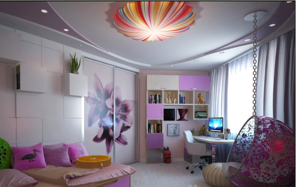 35-Magnificent-Dazzling-Ceiling-Design-Ideas-for-Kids-2015-17 36 Magnificent & Dazzling Ceiling Design Ideas for Kids 2017