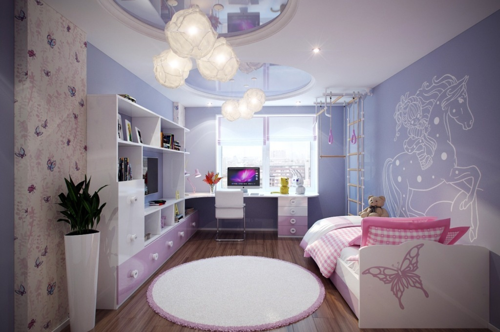 35-Magnificent-Dazzling-Ceiling-Design-Ideas-for-Kids-2015-19 36 Magnificent & Dazzling Ceiling Design Ideas for Kids 2017