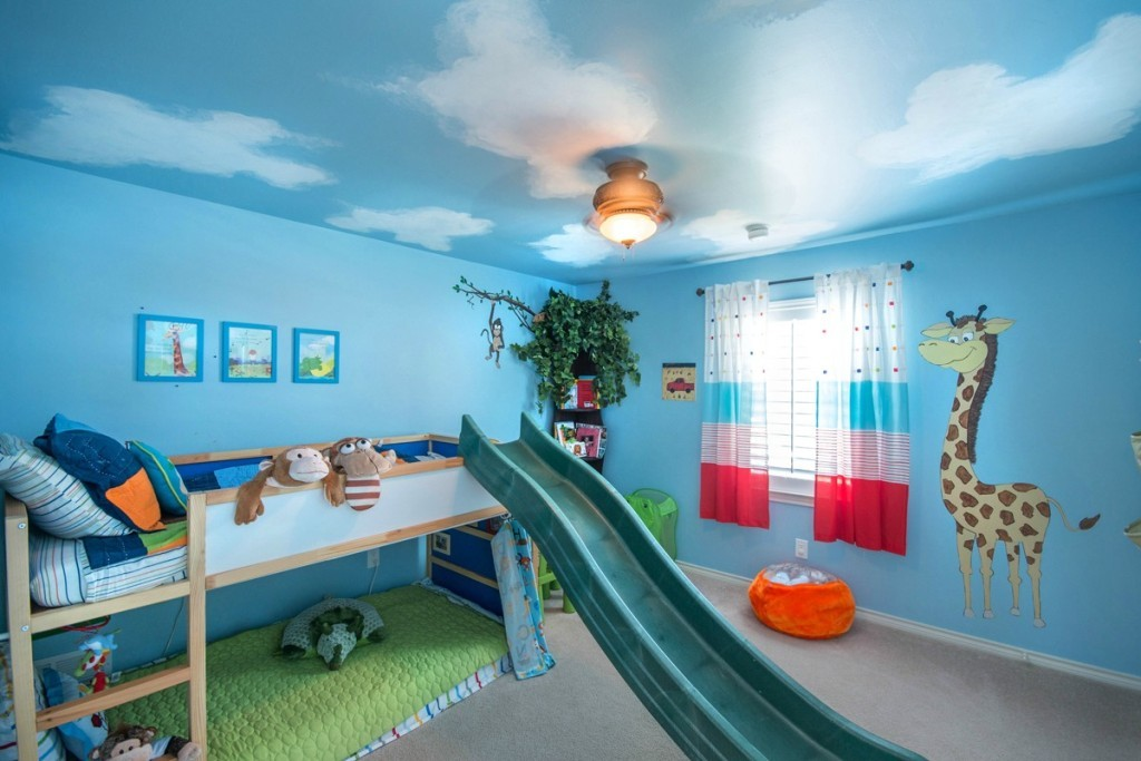 35-Magnificent-Dazzling-Ceiling-Design-Ideas-for-Kids-2015-22 36 Magnificent & Dazzling Ceiling Design Ideas for Kids 2017