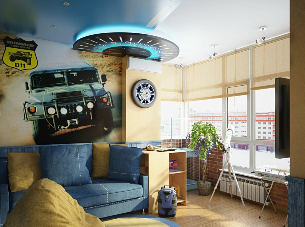 35-Magnificent-Dazzling-Ceiling-Design-Ideas-for-Kids-2015-24 36 Magnificent & Dazzling Ceiling Design Ideas for Kids