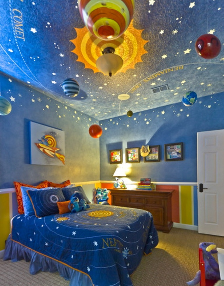 35-Magnificent-Dazzling-Ceiling-Design-Ideas-for-Kids-2015-29 36 Magnificent & Dazzling Ceiling Design Ideas for Kids 2019