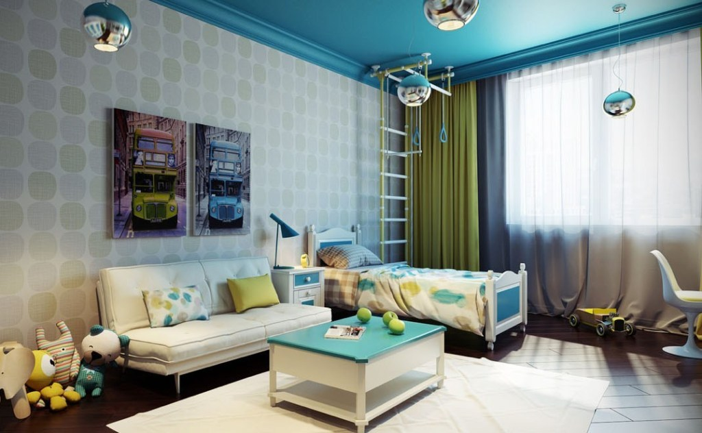 35-Magnificent-Dazzling-Ceiling-Design-Ideas-for-Kids-2015-31 36 Magnificent & Dazzling Ceiling Design Ideas for Kids
