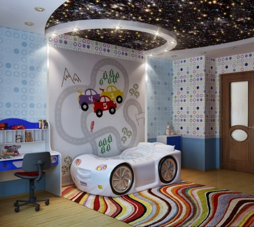 35-Magnificent-Dazzling-Ceiling-Design-Ideas-for-Kids-2015-7 36 Magnificent & Dazzling Ceiling Design Ideas for Kids
