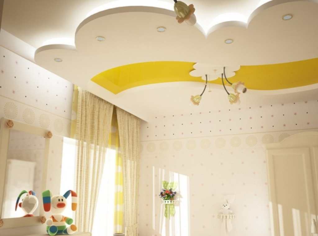 35-Magnificent-Dazzling-Ceiling-Design-Ideas-for-Kids-2015 36 Magnificent & Dazzling Ceiling Design Ideas for Kids 2019