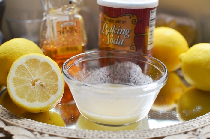 Mix-baking-soda-with-lemon-juice How Can I Whiten My Teeth Easily & Naturally?