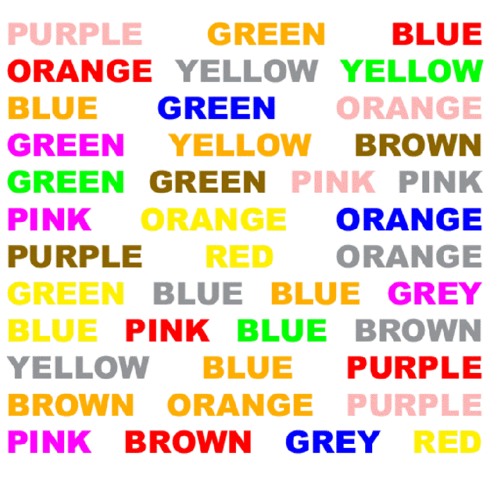 Stroop-test-1 Top 10 Most Interesting Mind Tricks to Trick Your Mind
